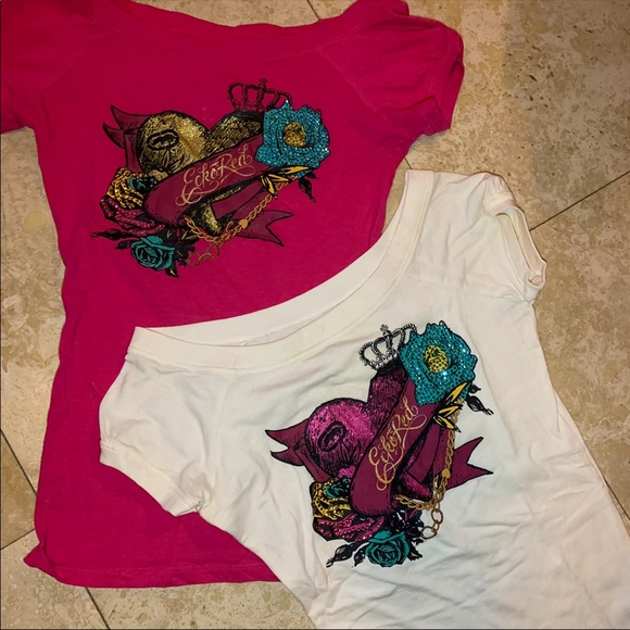 Ecko Unlimited Tops - Bundle! Two Ecko Red Tops